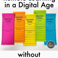 Remote Learning in a Digital Age without Digital Resources